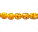 Millefiori glass beads OV