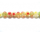 Chevron glass beads 4R
