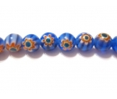Chevron glass beads 6R