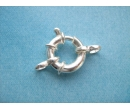 Clasp ring - sterling silver I