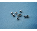 Bead spacers - sterling silver