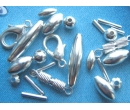Metal findings - silver plated
