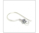 Earring french style - sterling silver