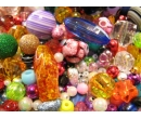 Mix plastic beads