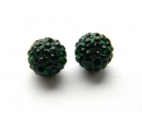 Rhinestone ball beads K10